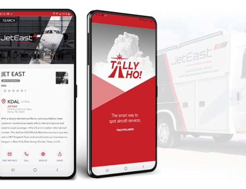 Jet East Joins TallyHo! Aircraft Services Search App